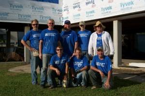 Duncan with Volunteers